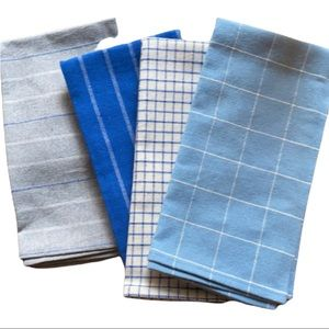 BNIP Palm + Perkins upcycled napkin set of 4